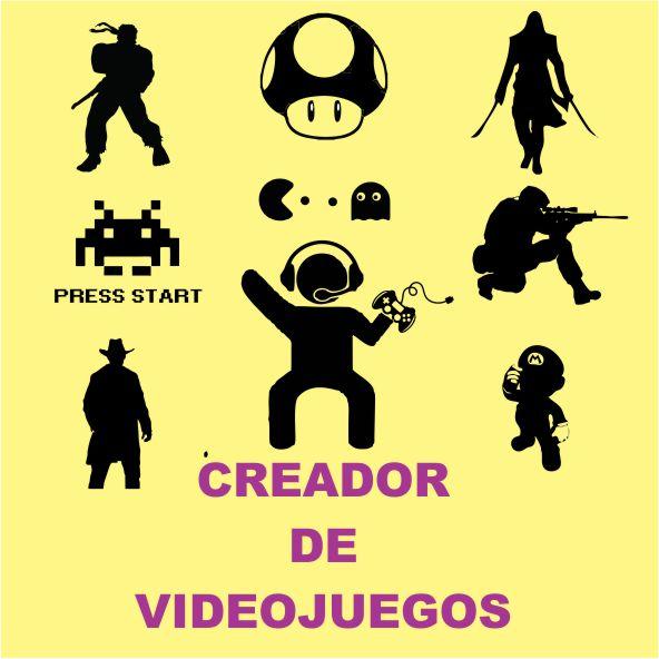 CREADOR DE VÍDEO JUEGOS